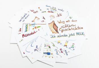 Anwendung-Lebenskarten